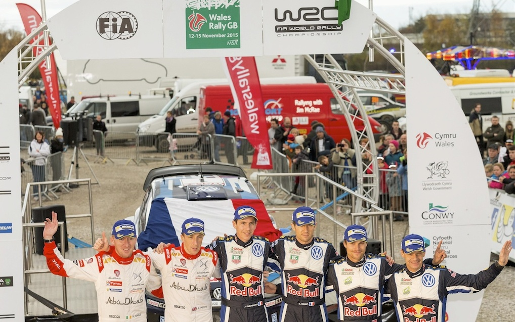 AUTOMOBILE: WRC Wales Rally GB - WRC -12/11/2015