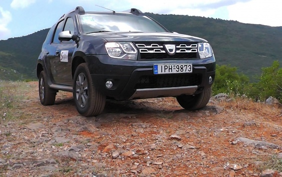 Dacia Duster 4WD – Στο Ράλλυ Ακρόπολις με το κρυφό μας «όπλο»