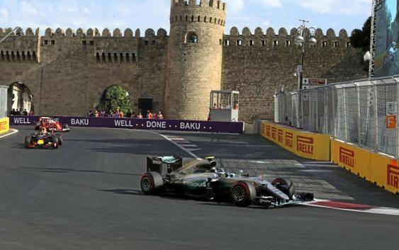 Formula 1 GP Azerbaizan 2016