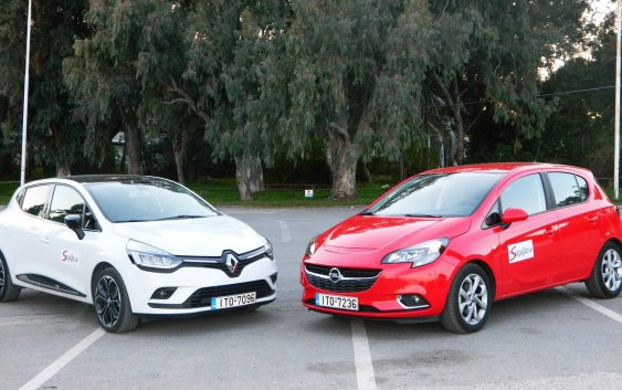Opel Corsa 1,4 90ps – Renault Clio 1,2 TCe 120ps
