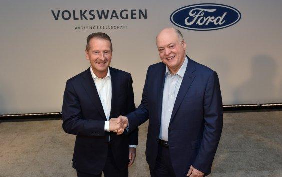 Η Ford και η Volkswagen διευρύνουν την παγκόσμια συνεργασία τους