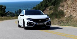 Honda Civic sport 1,5 VTEC turbo 182 hp