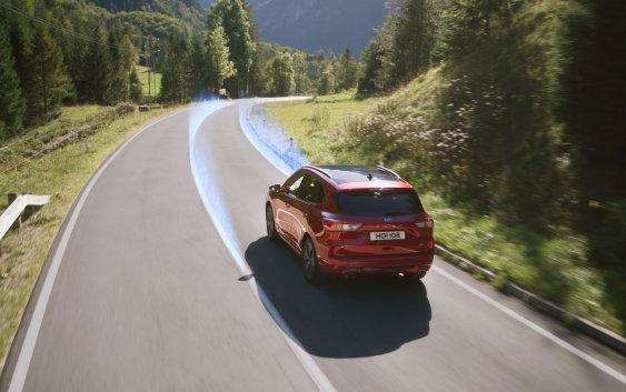 Το νέο Ford Kuga πρώτο στα συστήματα υποβοήθησης στο Euro NCAP