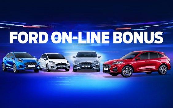 Νέο πρόγραμμα ευέλικτης χρηματοδότησης ON-LINE BONUS από τη Ford