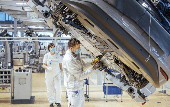 Ηλεκτρική αλλαγή φρουράς για τη Volkswagen στη Δρέσδη