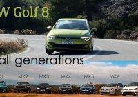 VW Golf MK8 1,5 130hp – Review & Flashback – Golf MK1/2/3/4/5/6/7