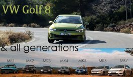 VW Golf MK8 1,5 130hp – Review & Flashback – Golf MK1/2/3/4/5/6/7