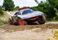 Οι δοκιμές του Audi RS Q e-tron για το Ράλι Ντακάρ ξεκίνησαν
